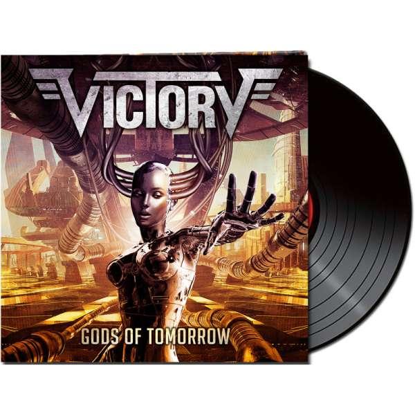 VICTORY - Gods Of Tomorrow - Ltd. Gatefold BLACK LP