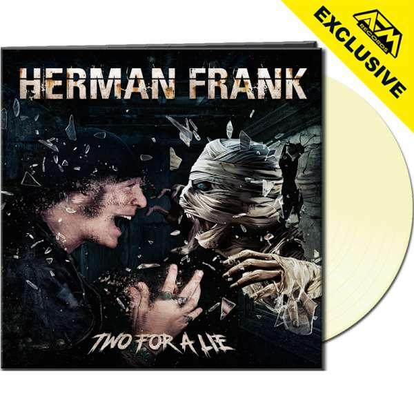 HERMAN FRANK - Two For A Lie - Ltd. Gatefold CREAMY WHITE Vinyl - Shop Exclusive!