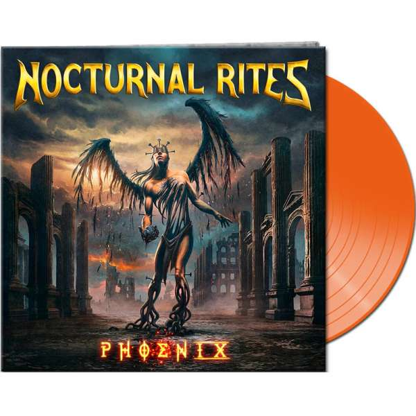 Nocturnal Rites - Phoenix - Ltd. Gtf. Clear Orange Vinyl