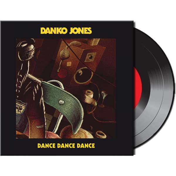"DANKO JONES - Dance Dance Dance - Ltd. 7"" Vinyl Single"