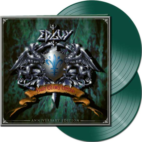 EDGUY - Vain Glory Opera (Anniversary Edition) - Ltd.Gtf. GREEN 2-LP